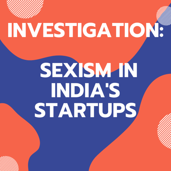 Sexism in India's Startups